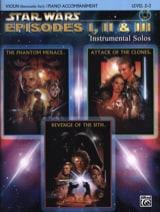 John Williams - Star Wars episodes 1, 2 - 3 - instrumental solos - Sheet Music - di-arezzo.com