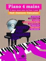 Huit Chansons Françaises - Partition - Piano - laflutedepan.com