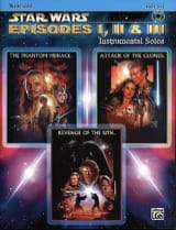 John Williams - Star Wars episodes 1, 2 & 3 - instrumental solos - Partition - di-arezzo.fr