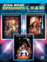 John Williams - Episodios de Star Wars 1, 2 - 3 - solos instrumentales - Partitura - di-arezzo.es