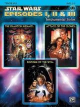 Star Wars episodes 1, 2 & 3 - instrumental solos laflutedepan.com