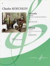 Monodie - Nocturne Opus 213 Charles Koechlin laflutedepan.com