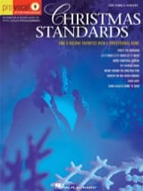 Pro Vocal Men's Edition Volume 5 - Christmas Standards laflutedepan.com