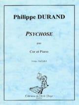 Philippe Durand - Psychosis - Sheet Music - di-arezzo.com