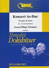 Konzert As-Dur Georg Ph Telemann Partition laflutedepan.com
