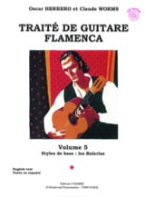 Herrero Oscar / Worms Claude - Flamenco Guitar Treatise Volume 5 - Sheet Music - di-arezzo.co.uk