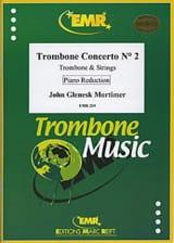 John Glenesk Mortimer - Trombone Concerto N° 2 - Partition - di-arezzo.fr