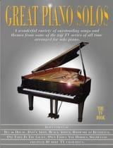 Great piano solos - The TV book Partition laflutedepan.com