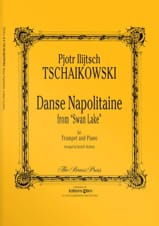 TCHAIKOVSKY - Danse Napolitaine From Swan Lake - Partition - di-arezzo.fr