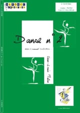 Danse N° 2 Jean-Louis Maton Partition laflutedepan.com