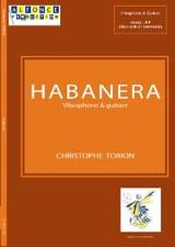 Habanera Christophe Torion Partition Vibraphone - laflutedepan.com