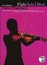 Violin Solo Début Film Themes Partition Violon - laflutedepan.com