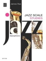 Jazz Scale Studies Saxophone James Rae Partition laflutedepan.com