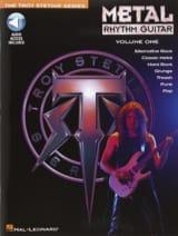 Metal Rhythm Guitar Volume One Troy Stetina Partition laflutedepan.com