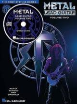 Metal Lead Guitar Volume Two Troy Stetina Partition laflutedepan.com