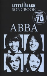 ABBA - The Little Black Songbook - Partition - di-arezzo.fr