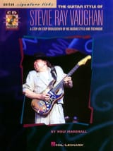 Stevie Ray Vaughan - The Guitar Style Of Stevie Ray - Sheet Music - di-arezzo.co.uk