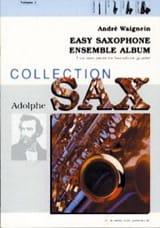 Easy Saxophone Ensemble Album Volume 1 André Waignein laflutedepan.com