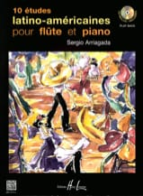Sergio Arriagada - 10 Latin American Studies - Sheet Music - di-arezzo.co.uk