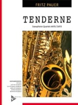 Tenderness Fritz Pauer Partition Saxophone - laflutedepan