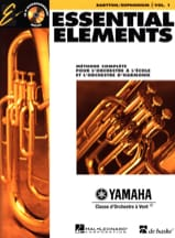 - Essential Elements. Baryton / Euphonium Sib Sol Volume 1 - Partition - di-arezzo.fr