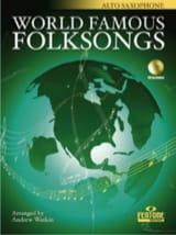 World Famous Folksongs Partition Saxophone - laflutedepan.com