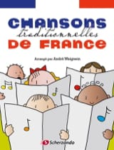 Chansons traditionnelles de France Partition laflutedepan.com