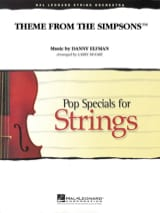 Danny Elfman - Theme From The Simpsons - Pop Specials For Strings - Partition - di-arezzo.fr