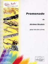 Promenade Jérôme Naulais Partition laflutedepan.com