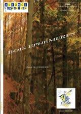 Bois Ephémères Pascal Ducourtioux Partition laflutedepan.com