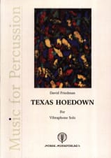 Texas Hoedown David Friedman Partition Vibraphone - laflutedepan.com