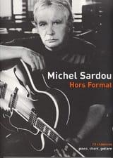 Hors Format Michel Sardou Partition laflutedepan.com