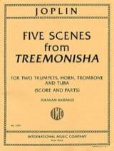 Five Scenes From Treemonisha Scott Joplin Partition laflutedepan.com