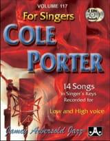 Porter Cole / Aebersold Jamey - Volume 117 - Cole Porter For Singers - Partition - di-arezzo.fr