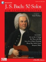 BACH - J.S. Bach: 50 Solos For Classical Guitar - Partition - di-arezzo.fr