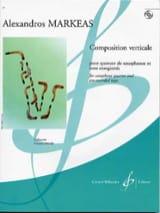 Composition Verticale Alexandros Markeas Partition laflutedepan.com