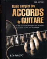 Phil Capone - Guide Complet Des Accords de Guitare - Partition - di-arezzo.fr