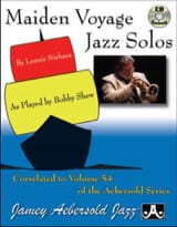 METHODE AEBERSOLD - Maiden Solos Jazz Travel - Sheet Music - di-arezzo.co.uk