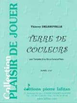 Terre de Couleurs Thierry Deleruyelle Partition laflutedepan.com