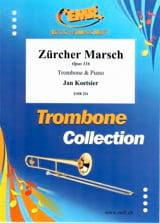 Zürcher March Jan Koetsier Partition Trombone - laflutedepan