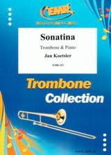 Sonatina Jan Koetsier Partition Trombone - laflutedepan