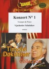 Konzert N° 1 Vjacheslav Schelokov Partition laflutedepan.com