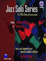 Jazz Solo Series For Alto Sax Mark Vega Partition laflutedepan.com