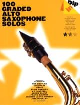 100 Graded Alto Saxophone Solos - Dip In Partition laflutedepan.com