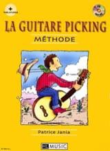 La Guitare Picking Méthode Patrice Jania Partition laflutedepan.com