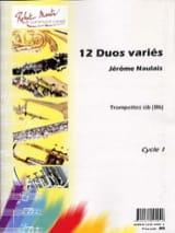 12 Duos Variés Pour Trompettes Jérôme Naulais laflutedepan.com