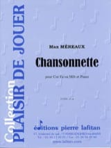 Chansonnette Max Méreaux Partition Cor - laflutedepan.com