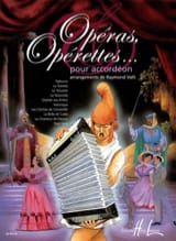 Opéras, Opérettes... Pour Accordéon Partition laflutedepan.com