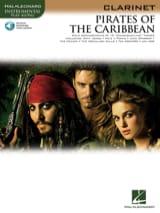 Pirates des Caraïbes Klaus Badelt Partition Clarinette - laflutedepan