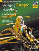 Swinging Baroque Play-Along Partition Saxophone - laflutedepan.com